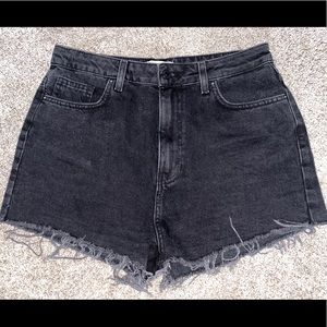 High waisted Forever21 premium denim shorts